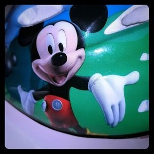 Disney  Mickey mouse  bicycling  helmet